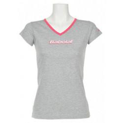 Babolat T-Shirt Training Lady Gris