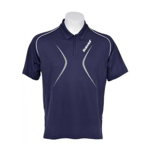 Babolat Polo Men Club 12 Bleu Marine