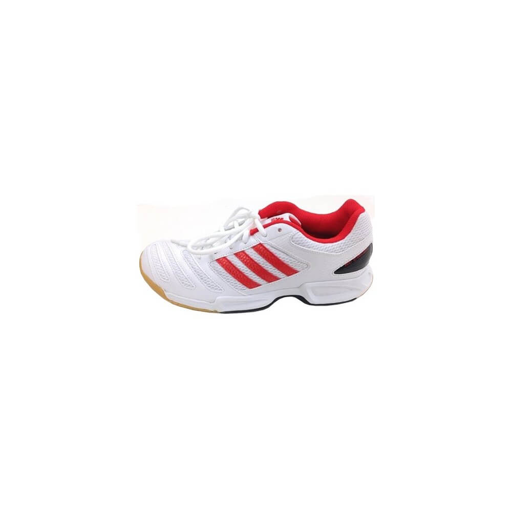 Team White Red Adidas Bt Feather Chaussures Badminton m8n0wNvO