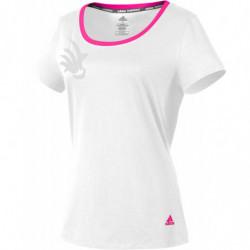 Adidas Shuttle T-Shirt W White
