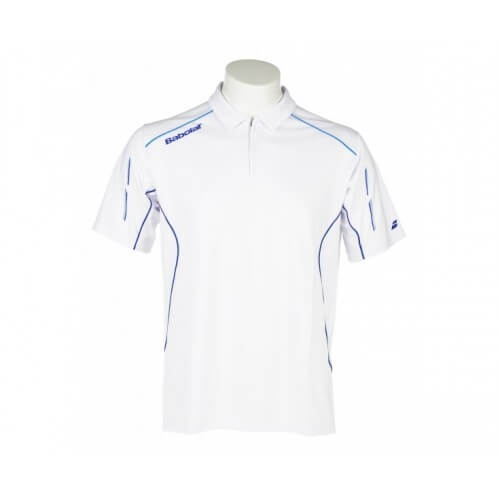 Babolat Polo Match Core Men 14 Blanc