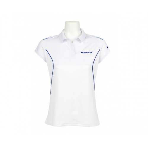 Babolat Polo Match Core Women 14 Blanc