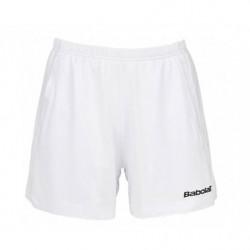 Babolat Short Match Core Women 14 Blanc