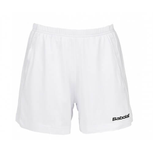 Babolat Short Match Core Women 14 Blanc