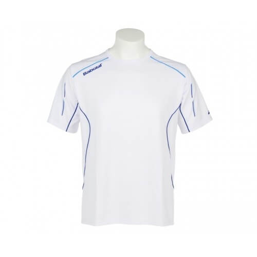 Babolat T-Shirt Match Core Boy 14 Blanc