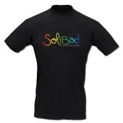Solibad T-Shirt Homme Noir