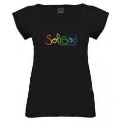 Solibad T-Shirt Femme Noir