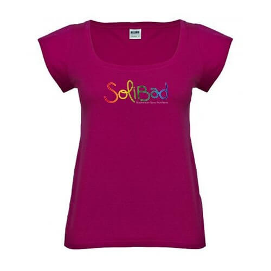 Solibad T-Shirt Femme Fushia