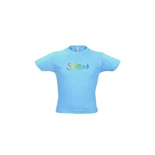 Solibad T-Shirt Junior Turquoise
