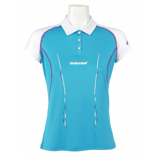 Babolat Polo Perf Girl 2014 Turquoise