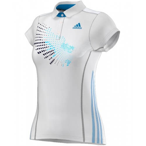 Adidas Polo Women BT Graph Blanc