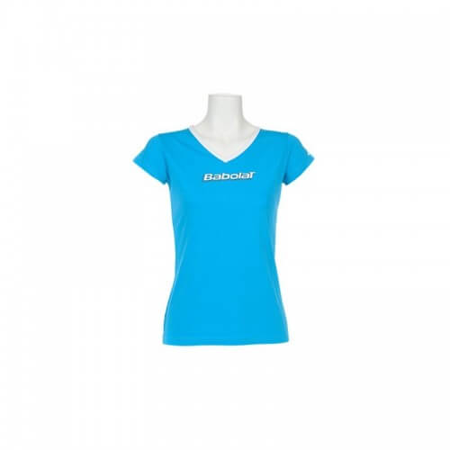 Babolat Tee Shirt Girl Training Basic blue