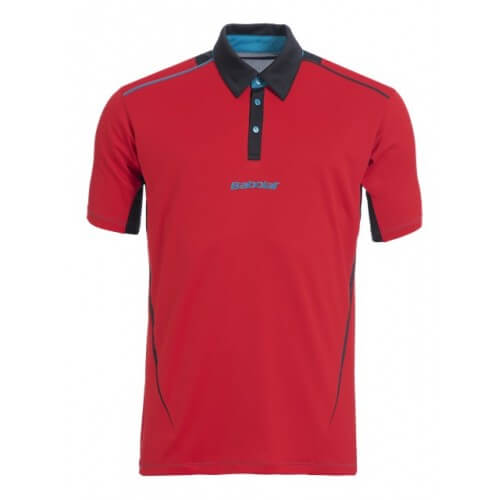Babolat Polo Match Perf Men 2015 Rouge
