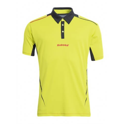 Babolat Polo Match Perf Men 2015 Jaune