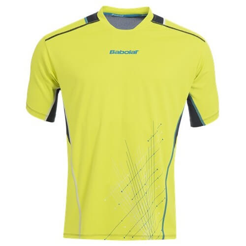 Babolat T-Shirt Match Perf Men 2015 Jaune