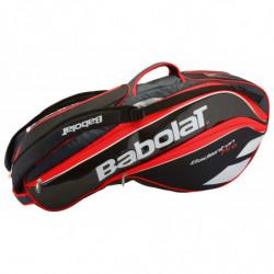 Babolat Racket Holder x8 Pro Rouge Fluo