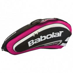 Babolat Racket Holder x4 Team Rose