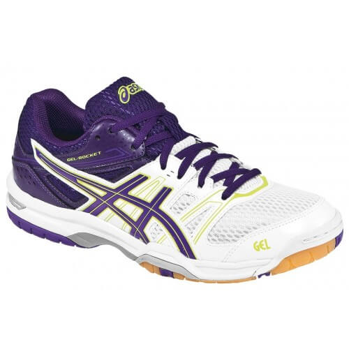 Asics Gel Rocket 7 White Lavender Purple