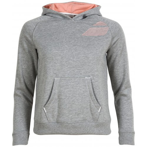 Babolat Sweat Hoodie Core Women Grey
