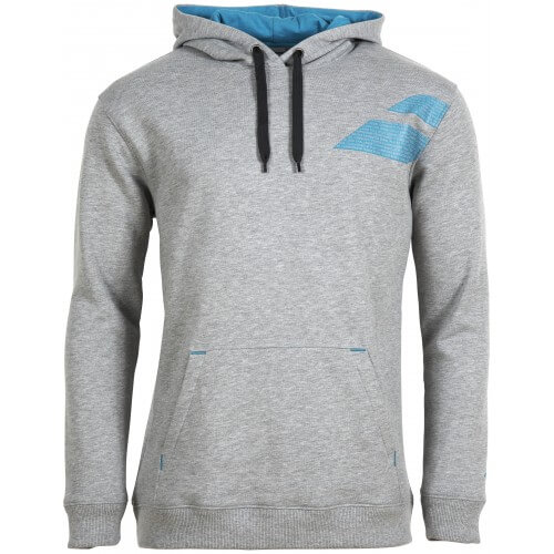 Babolat Sweat Hoodie Core Men Grey