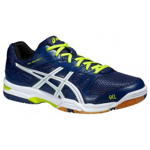 Asics Gel Rocket 7 Men Navy White Lime