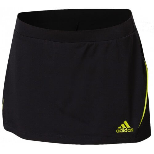 Adidas Skort Technical Black Yellow