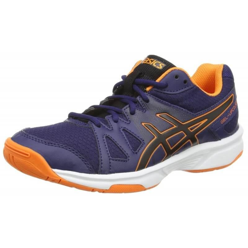 Asics Gel Upcourt Navy Black Hot Orange
