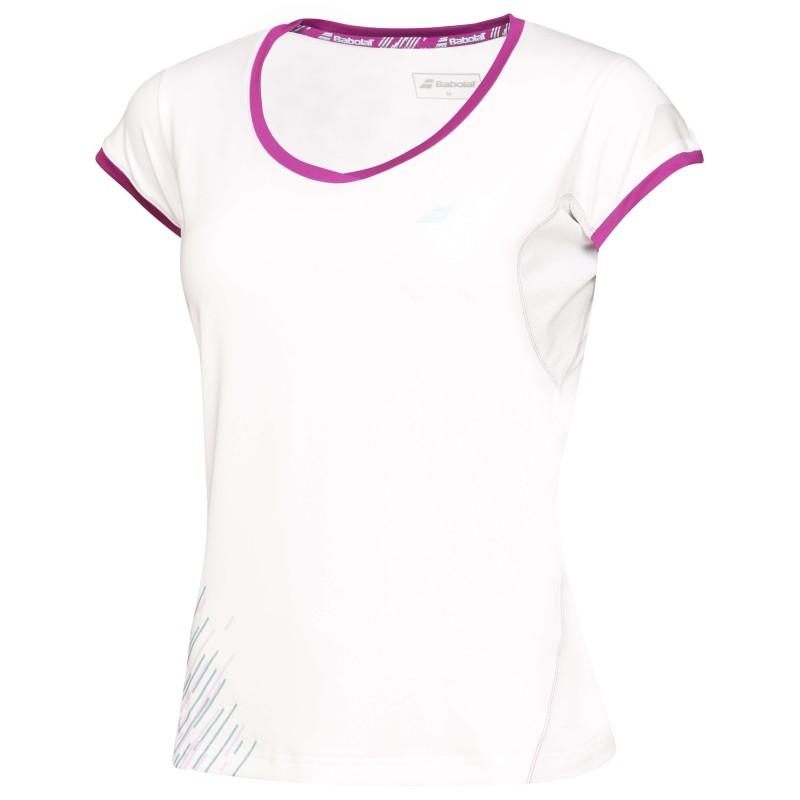 Babolat Cap Sleeve Women Perf 2016 Blanc
