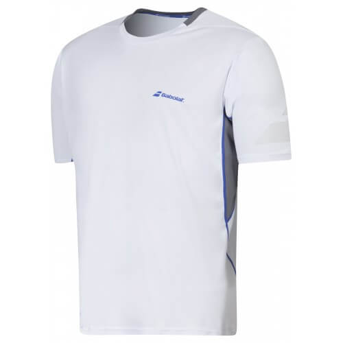 Babolat T-Shirt Crew Neck Men Perf 2016 Blanc