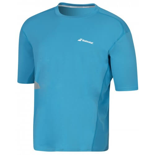 Babolat Tee Shirt Flag Core Men Petrol Blue