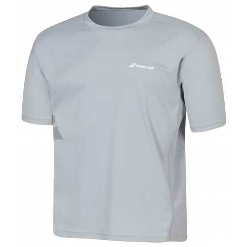 Babolat Tee Shirt Flag Core Men Grey