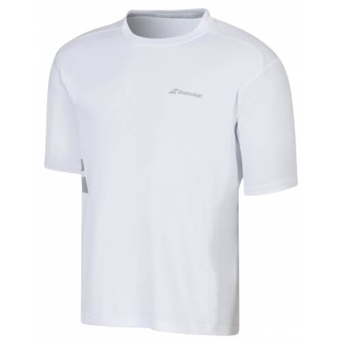 Babolat Tee Shirt Flag Core Men White
