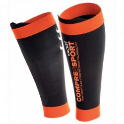 Compressport Racket Pro Silicon R2 Black Orange