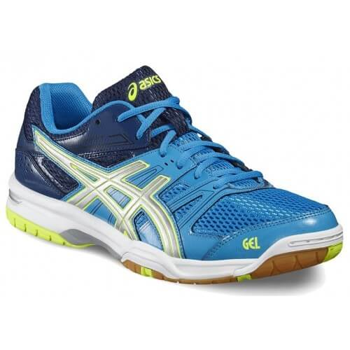 Asics Gel Rocket 7 Men Blue Grey Yellow