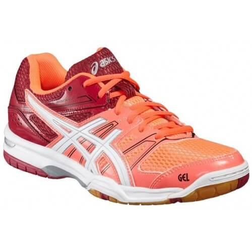 Asics Gel Rocket 7 Women Coral White Cerise