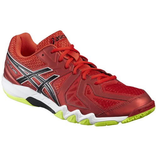 Asics Gel Blade 5 Men Vermilion Black Yellow