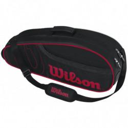 Wilson Badminton Pro 6PK Black Red