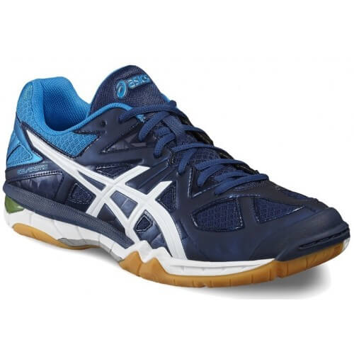Asics Gel Tactic Men Poseidon White Yellow