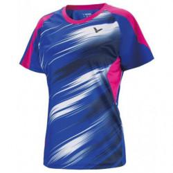 Victor Tee Shirt Women 6602 Blue