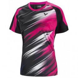 Victor Tee Shirt Women 6602 Black
