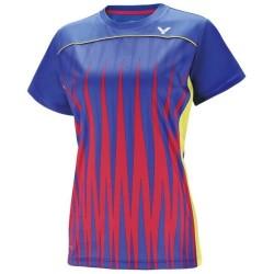 Victor Tee Shirt Women 6606 Blue