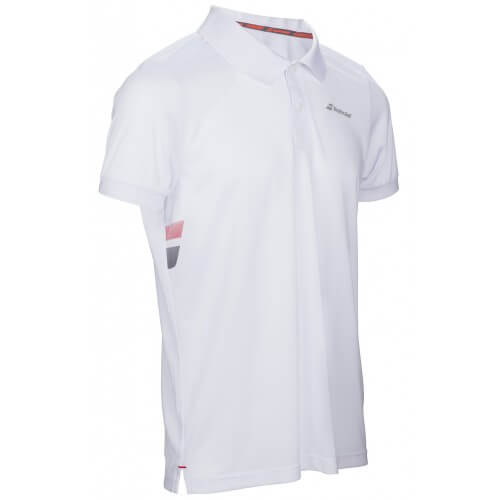 Babolat Polo Core Club Men Blanc