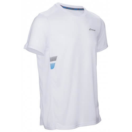 Babolat Flag Tee Core Club Men Blanc