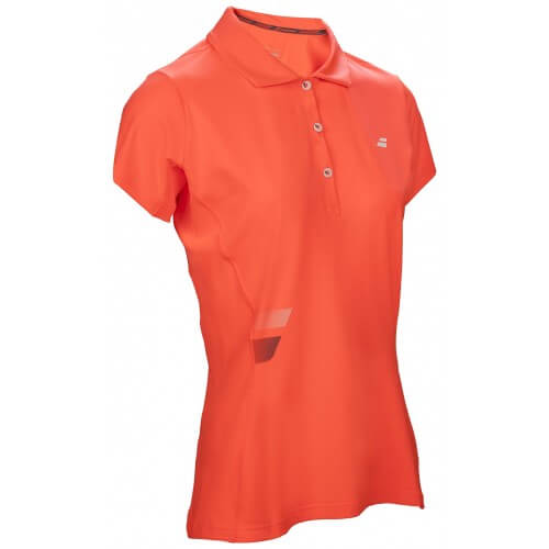 Babolat Polo Core Club Women Rouge Fluo