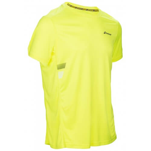 Babolat Flag Core Club Tee Boy Jaune