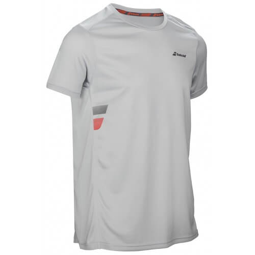 Babolat Flag Tee Core Club Men Gris