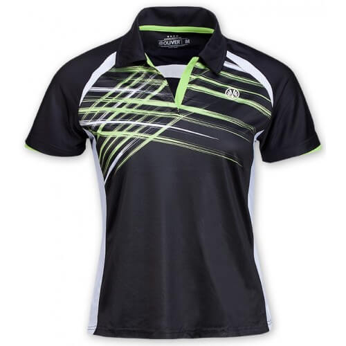 Oliver Polo Salvador Women Black Green