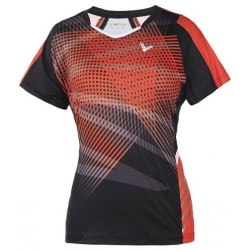 Victor Tee Shirt T1 6102 Women Black Orange