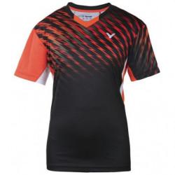 Victor Tee Shirt S 6010 Black Orange