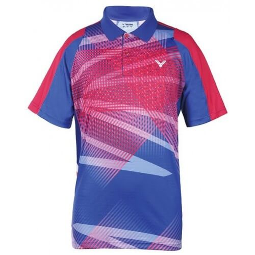 Victor Tee Shirt S 6004 Blue Pink